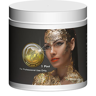 Pint UltraGold™ Facial Gold Leaf Size